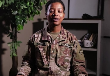 Black History Month Features Ep. 2 with 1st Lt. April Woodson