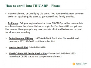 How to Enroll into Tricare