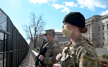 North Dakota Army National Guard Military Police in D.C.