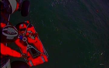 Coast Guard rescues 3 people, 1 dog from fishing vessel taking on water near Willapa Bay, WA