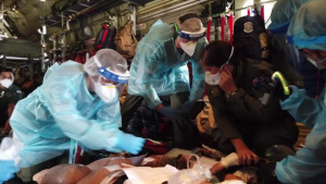 Aeromedical Joint Coalition HA/DR Training During Exercise Cope North 21