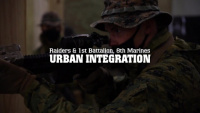Marine Raiders collaborate with Marines from 1/8 on CQB tactics and SSE