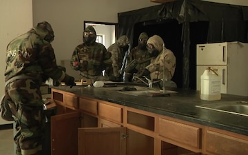 102d Training Division instructors conduct 74D CBRN Specialist STX B-Roll