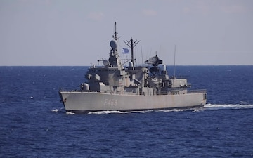 USS Porter Conducts Interoperability Training with Hellenic Armed Forces