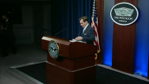 Pentagon Press Secretary Briefs on Military Readiness