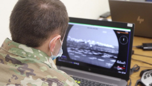 388th Chemical Company Trains with Virtual Battle Space