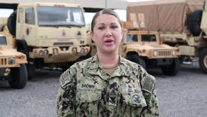 U.S. Navy Mass Communication Specialist 1st Class Randi Brown Sends Black History Month Message