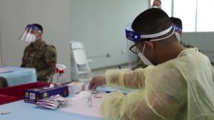 PRNG vaccinates residents at Elderly Home in San Juan, PR