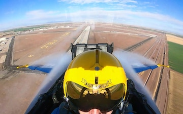 Blue Angel Solo Maneuvers