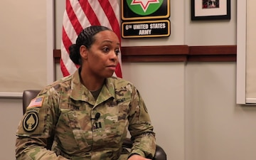 U.S. Army Capt. Yvette Tyson talks about Black History Month