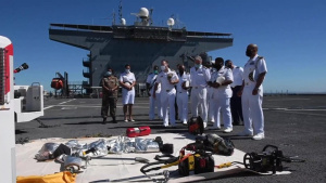 "USS Hershel ""Woody"" Williams host South African Key Leader Engagement"