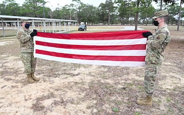 Honor Guard Flag Folding Working Interview
