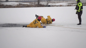 Ice Rescue Training