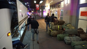 U.S. Marines Arrive in Philadelphia to support FEMA Vaccination Effort