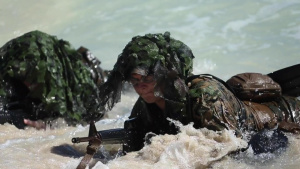 Lava Dogs conduct Exercise Bougainville I