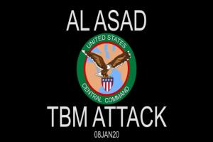 Al Asad TBM attack