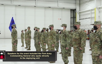 1-171st Aviation Regiment Given Send-Off Ceremony Before Deployment