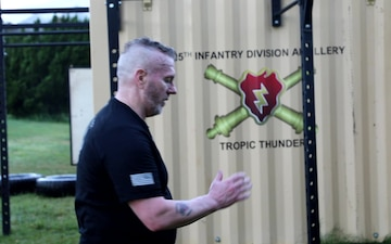 SEAC Troxell 25th Infantry Division Visit