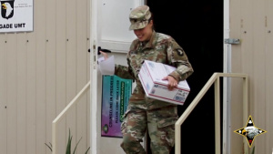 101st Division Sustainment Brigade build relationships through Letter Exchange
