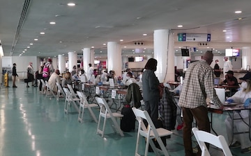 PRNG continues its mission at the island's airport