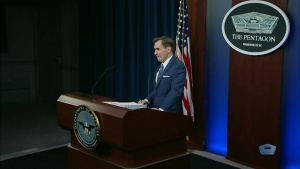 Pentagon Press Secretary Briefs News Media