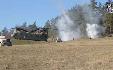 101st CAB soars in Combined Resolve XV