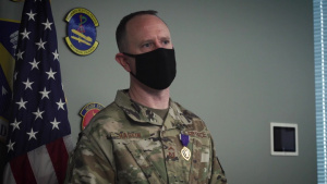 Wright-Patt Airman Receives Purple Heart