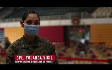 Marine on the Street: COVID-19 Vaccine