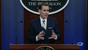 Pentagon Press Secretary Briefs Media