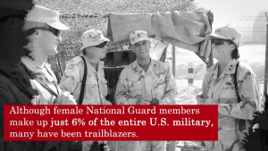 National Guard Celebrates Women's International Women's Day