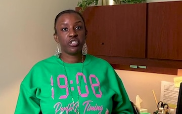 2021 Fort Riley Black History Month - Shalita Oliver