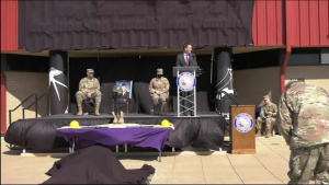138FW Purple Heart/building dedication ceremony