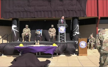 138FW Purple Heart/building dedication ceremony