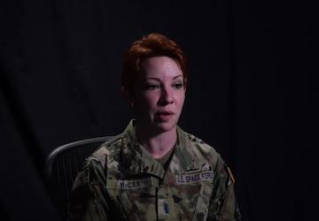 Faces of Space 1st Lieutenant Kelley McCaa