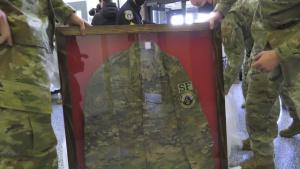 Memorials of Senior Airmen Ruiz, Sartain returned to 66 SFS