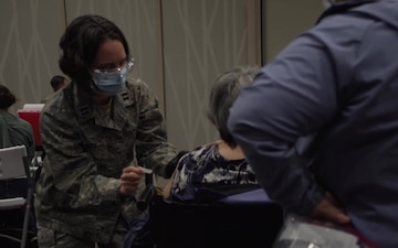 Colonel Jonathan Vinson Supports Vaccine Efforts