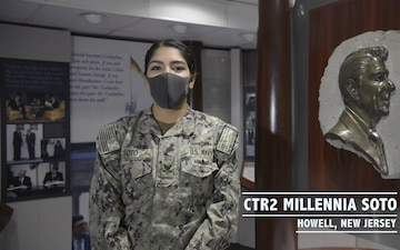 USS Ronald Reagan Sailor Spotlight - CTR2 Soto