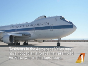 KC-46 conducts flight tests with E-4B