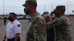 Secretary of the Army Visits Fair Park CVC 2