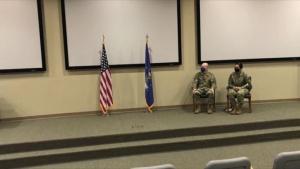 Chief Master Sergeant Jacinta Migo's Promotion Ceremony