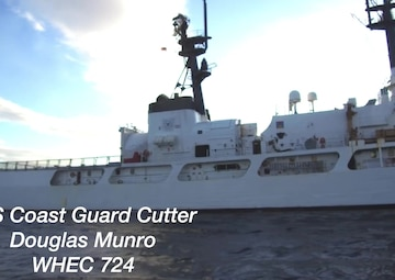 Coast Guard Cutter Douglas Munro return home from final patrol