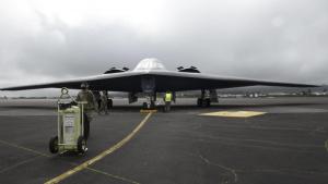 B-2 Spirts stealth bombers arrive at Lajes Field