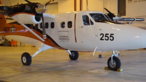 Twin Otter Arrives to NRL's Scientific Development Squadron ONE (VXS-1)