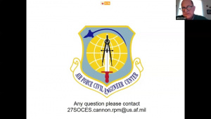 March 2021 Cannon AFB PFOS/PFOA Virtual Meeting