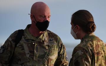 U.S. Space Force Gen. Raymond visits Beale AFB