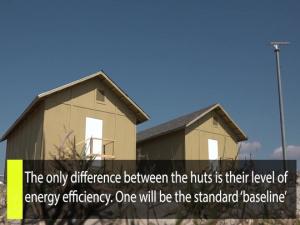 """Inside AFIMSC"" - Energy efficient B-huts: Saving lives through energy efficiency"