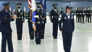 CMSAF Bass reflects on similarities between her, Airmen