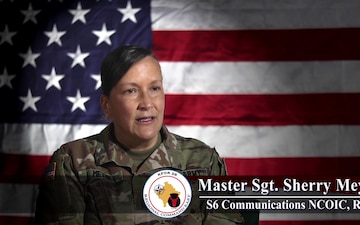 Iowa KFOR Soldier gives Women's History Month message