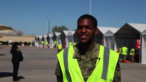 U.S. Air Force Airman Treshun Word Interview