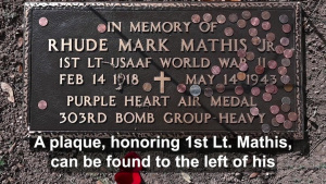 Mathis Memorial Dedication Ceremony